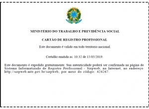 Problemas para a obtenção do registro profissional de jornalista (MTb)