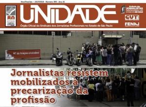 Resistência dos jornalistas às reformas em destaque no Unidade