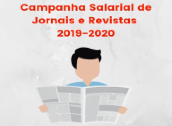 Após seis meses de negociação, jornalistas aceitam a proposta das empresas e encerram Campanha Salarial