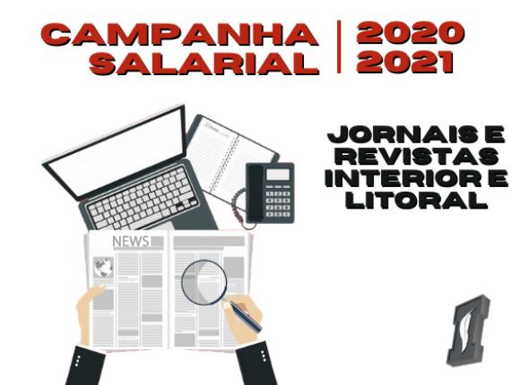 Sindicato assinou Convenção de Jornais e Revistas do interior