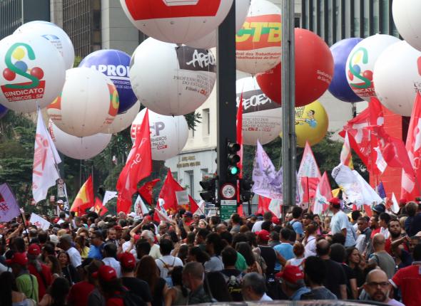Jornalistas da capital e interior lutam contra a reforma