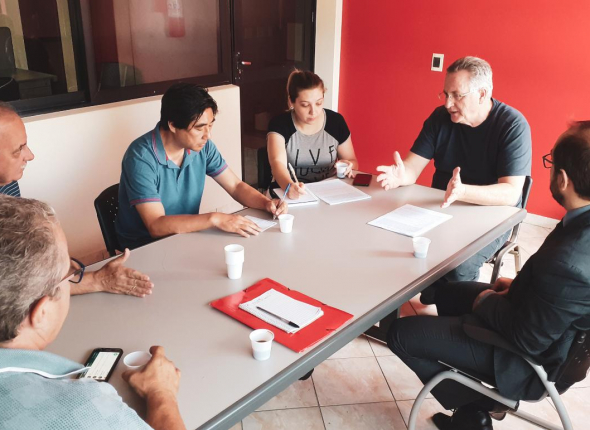 Sindicatos protocolam pauta de reivindicações na TVT