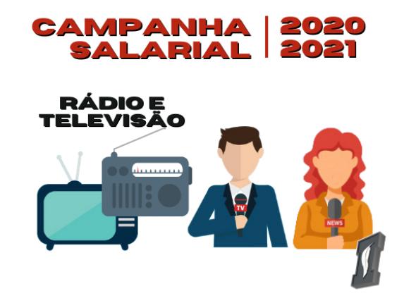 Sindicato dos Jornalistas exige nova rodada de negociação de rádio e tv