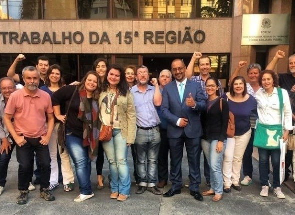 Greve no Correio Popular: jornalistas fazem abaixo-assinado