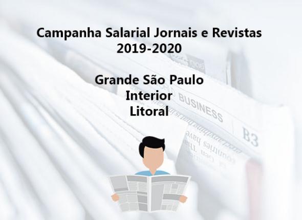 Jornalistas da Grande São Paulo, interior e litoral aprovam proposta patronal