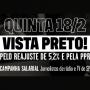 Em luto pela reposição da inflação e pagamento da PPR, jornalistas de rádio e tv vestem preto nesta quinta-feira (18)