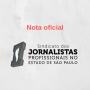 Nota de apoio ao jornalista Carlos Ratton