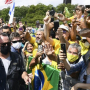Brasil: imprudência sanitária de Bolsonaro deixa o Palácio do Planalto sem cobertura jornalística