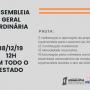 Sindicato dos Jornalista convoca categoria para assembleia geral ordinária