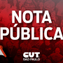 CUT-SP: Bolsonaro atenta contra a saúde pública
