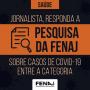 Covid: envie informações de contágio à FENAJ e ao Sindicato
