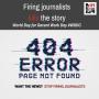 Dia Mundial do Trabalho Decente: demitir jornalistas acaba com a história