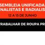 Assembleias de jornalistas e radialistas terminam sexta (15)