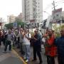 Apitaço marca protesto contra o calote da Abril