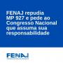 FENAJ repudia MP 927 e pede ao Congresso Nacional que assuma sua responsabilidade