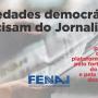 Manifesto da Fenaj pela criação de fundo público para jornalistas