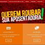 CUT lança site 'Reaja Agora'