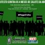 4 meses de calote: demitidos protestam quinta (6)