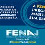 """Contribua com a campanha """"Salve a sede da Fenaj"""""""