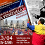 Dia 13: história e atualidade da Venezuela