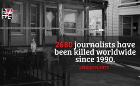 30º Informe Anual da FIJ contabiliza o assassinato de 65 profissionais em 2020
