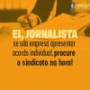 Acordos Individuais: orientação do Sindicato aos Jornalistas de SP