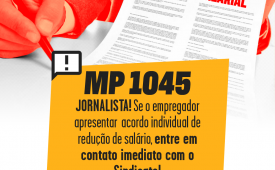 Acordos individuais: orientação do Sindicato aos jornalistas