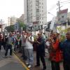 Apitaço marca protesto contra o calote da Editora Abril