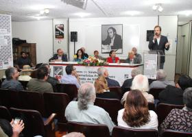 Ato em comemoração dos 80 anos do Sindicato dos Jornalistas
