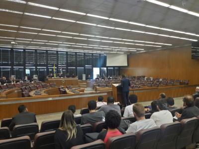 Audiência no Tribunal Regional do Trabalho da 2ª Região. Foto: Flaviana Serafim/SJSP