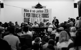 Campanha pelos 23 manifestantes condenados é lançada no Rio