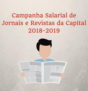Campanha Salarial de Jornais e Revistas da Capital 2018-2019