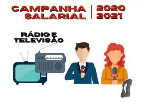 Campanha Salarial de Rádio e TV 2020-2021