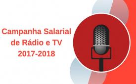 Campanha Salarial de Rádio e TV  tem nova rodada terça (10)