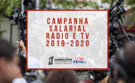 Campanha Salarial Rádio e Televisão 2019-2020