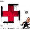 Charge original de Aroeira, alvo de inquérito policial e censura por parte do governo