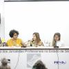 Cláudia Lima, Joana Cortês, Lilian Parise, Mariana Pereira e Maria Teresa Cruz debate assédios moral e sexual