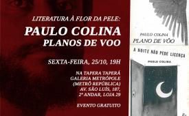 Cojira-SP realiza homenagem ao poeta Paulo Colina