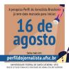 Coleta de dados da pesquisa Perfil do Jornalista começa dia 16 de agosto