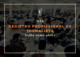 Como obter o registro profissional (MTb)