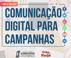Comunicação Digital em Campanhas - curso online