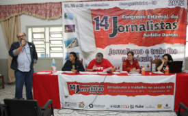 Congresso Estadual: Jornalistas debatem teses