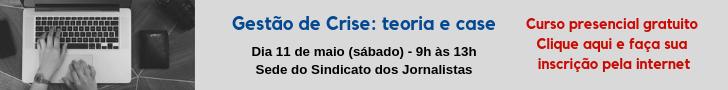 Curso gestão e crise 2019