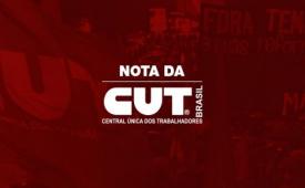 CUT repudia aprovação da terceirização pelo STF