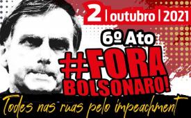 CUT-SP estará nas ruas no 2 de outubro pelo #ForaBolsonaro