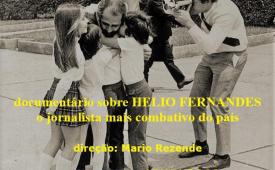 Documentário Confinado, que retrata a história do jornalista Helio Fernandes, está disponível no Youtube