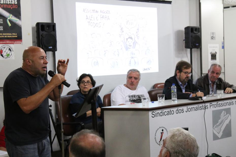 Dorberto Carvalho, presidente do Sated-SP