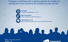 Edital de convocação para assembleia na EBC