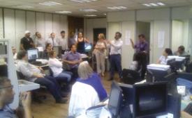 Em estado de greve, jornalistas da TV Alesp garantem a opção ao PDV