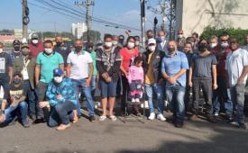 Em greve há 9 dias, trabalhadores da RedeTV realizam assembleia nesta quarta